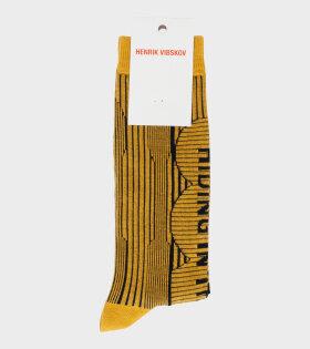 Henrik Vibskov - Hiding Socks Yellow