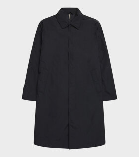 SUNFLOWER - Relaxed Coat Black