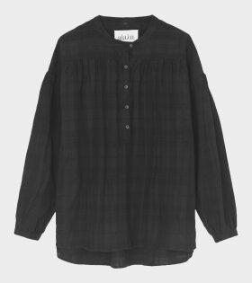 Aiayu - Gaucho Shirt Shadow Black