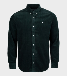 Carhartt WIP - Madison Cord Shirt Dark Green