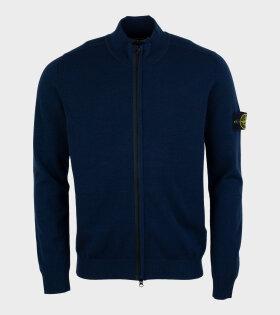 Stone Island - Knitwear Zipper Navy
