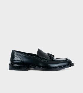 VINNY´s - Chico Tassel Loafer Black Polido