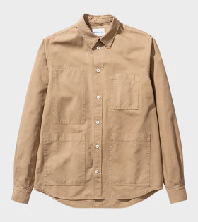 Norse Projects - Thorsten Shirt Beige