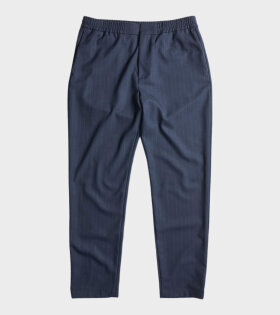 NN07 - Foss Pants Navy Stripe