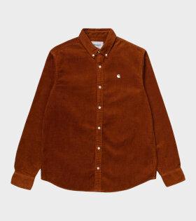 Carhartt WIP - Madison Cord Shirt Brown