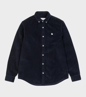 Carhartt WIP - Madison Cord Shirt Navy
