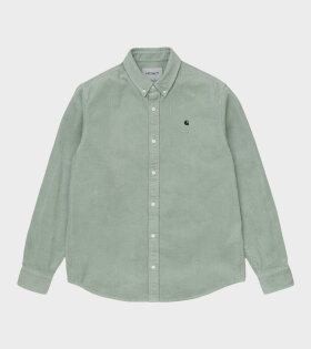Carhartt WIP - Madison Cord Shirt Frosted Green