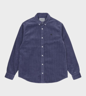 Carhartt WIP - Madison Cord Shirt Purple