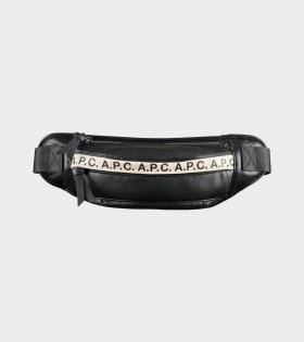 A.P.C - Banane Repeat Bag Black