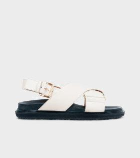 Fussbett Sandal Off-white