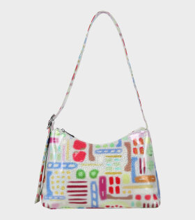 Silfen - Ulrikke Lacquer Shoulder Bag Sicilian Market