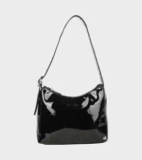 Silfen - Ulla Lacquer Handbag Black