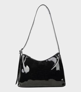 Silfen - Ulrikke Lacquer Shoulder Bag Black