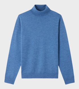 A.P.C - Pull Dundee Knit Blue