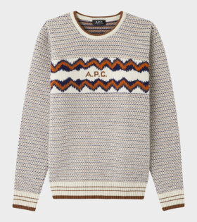 A.P.C - Pull Ben Knit Multicolour