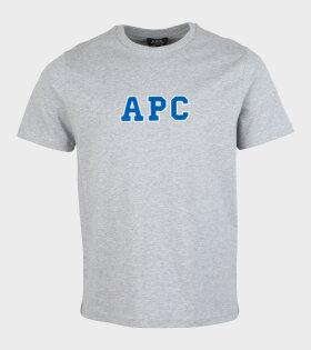 A.P.C - Gael T-shirt Grey