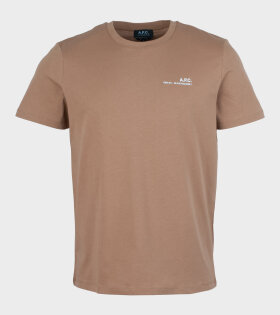A.P.C - Item Cab T-shirt Brown