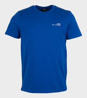 A.P.C - Item Iah T-shirt Blue