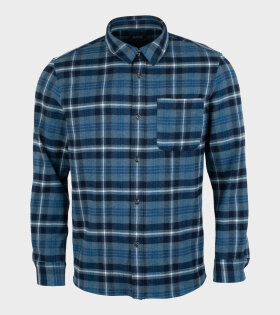 A.P.C - Surchemise Trek Shirt Blue