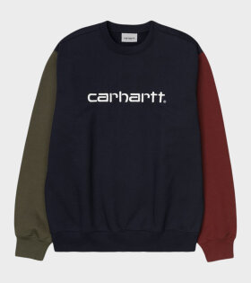 Carhartt WIP - Carhartt Tricol Sweat Dark Navy