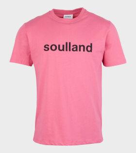 Logic Chuck T-shirt Pink