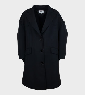 MM6 Maison Margiela - Round Jacket Black