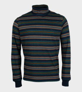 Paul Smith - Reg Fit LS T-shirt Stripe Multicolour