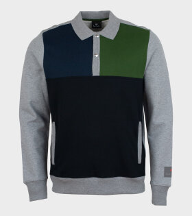 Paul Smith - Half Placket Sweat Multicolour