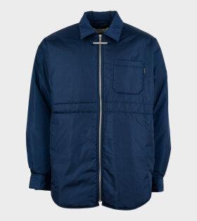 Marni - Nylon Long Jacket Blue