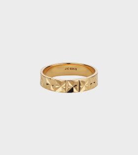 Jane Kønig - Medium Reflection Ring Gold