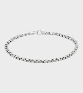 Tom Wood - Venetian Bracelet Single Silver
