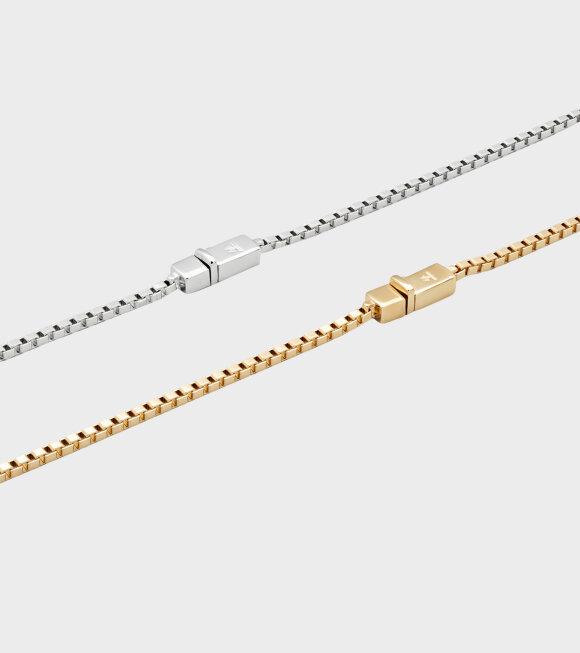 Tom Wood - Square Bracelet Silver