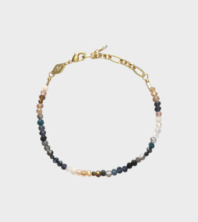 Moonstone Beach Bracelet Gold