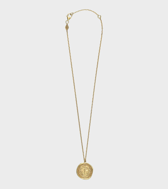 Anni Lu - My Anchor Necklace Gold
