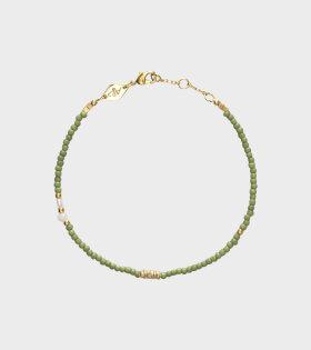Anni Lu - Wave Chaser Bracelet Sage Green