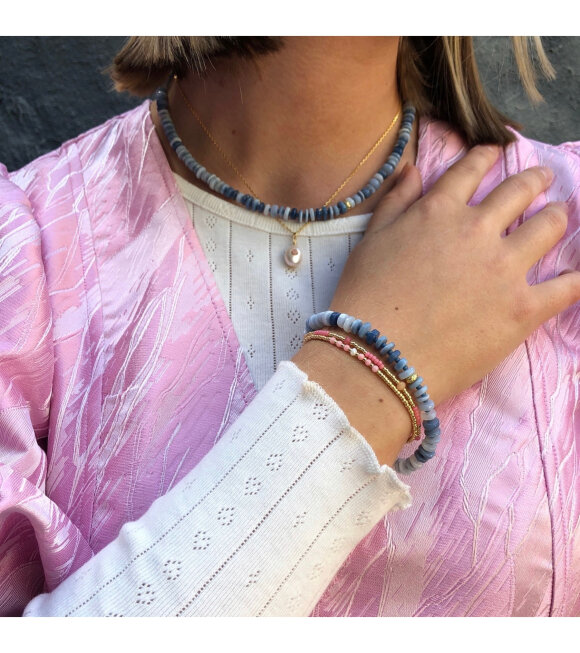 Anni Lu - The Big Blue Necklace Blue