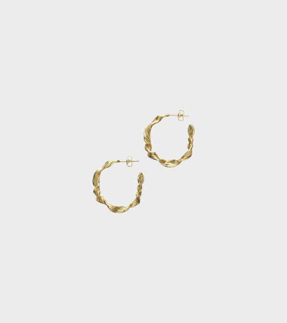 Anni Lu - Seaweed Hoop Gold