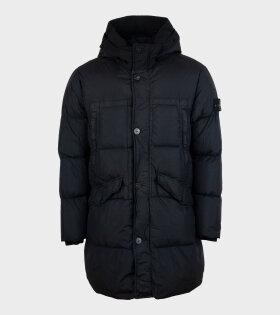 Stone Island - Garment Dyed Crinkle Reps Jacket Black