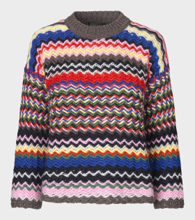 Stine Goya - Rebeka Zig Zag Knit Multicolour