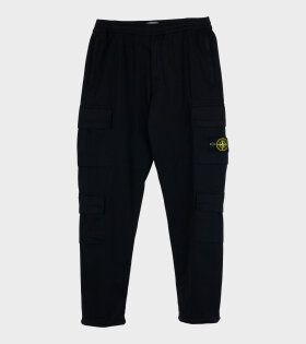 Stone Island - Patch Pants Black