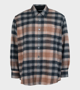Our Legacy - Above Shirt Brown Plaid