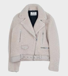 Acne Studios - Merlyn Shear Jacket Off-White