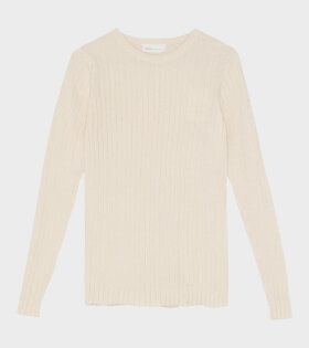 Pablo Round Neck Cream