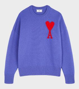 Ami de Coeur Sweater Purple