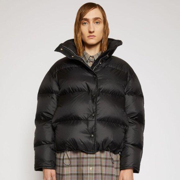 Acne Studios - Cropped Down Jacket Black