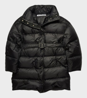 Acne Studios - Belted Puffer Coat Black