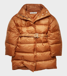 Acne Studios - Belted Puffer Coat Mink Brown