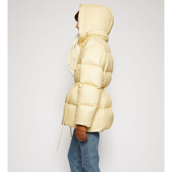 Acne Studios - Hooded Puffer Coat Cream Beige