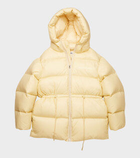 Acne Studios - Hooded Puffer Coat Cream Beige