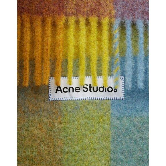 Acne Studios - Vally Multi Checked Scarf